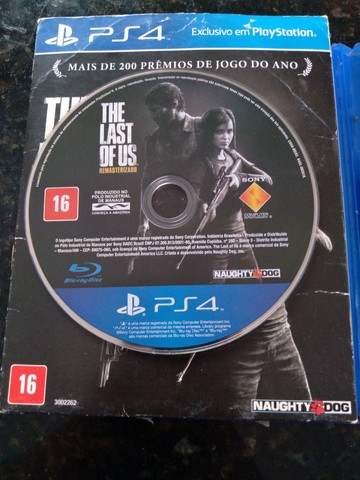 2 Jogos de Ps4 Uncharted 4 e The last of us  - Foto 2