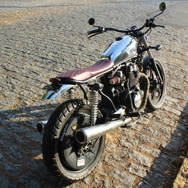 Moto Coffe Racer Custom - CB 400 82 Estilizada Tracker 1982 - Foto 5