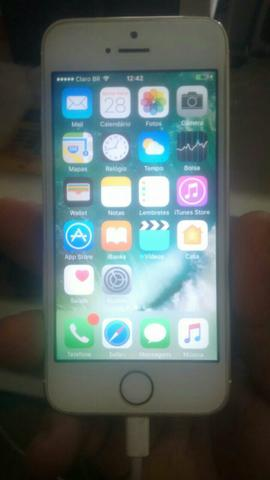 Iphone 5s iCloud limpo super conservado!