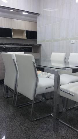 Apartamento para alugar, 141 m² por r$ 3.500,00/mês - canto do forte - praia grande/sp - Foto 14