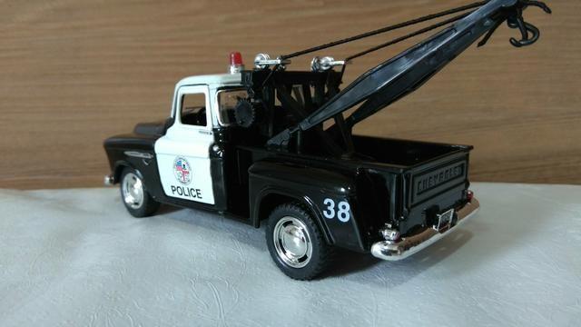 Chevrolet 1955 guincho polícia para colecionadores