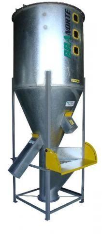 Misturador Ração, Silo Misturador 1900 litros