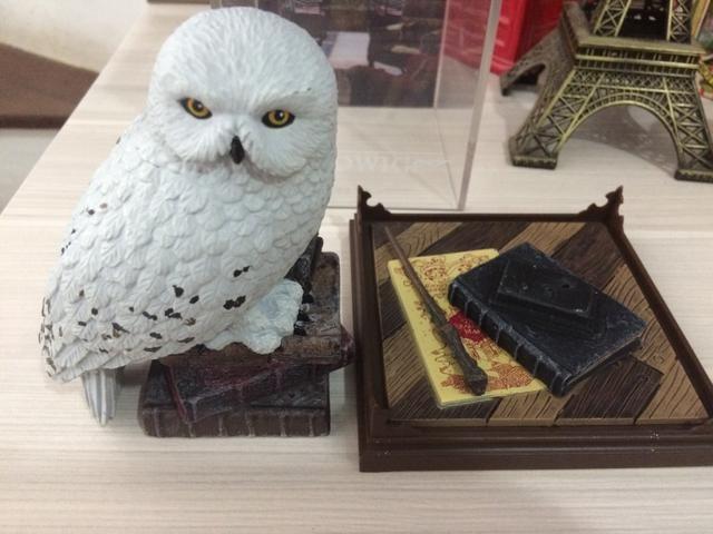 Coruja Harry Potter Magical Creatures N1 - Hedwig