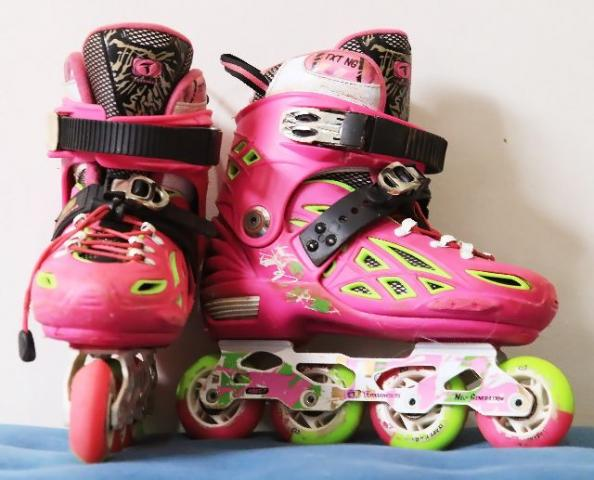 Patins Traxart New Generation 35-38 Rosa