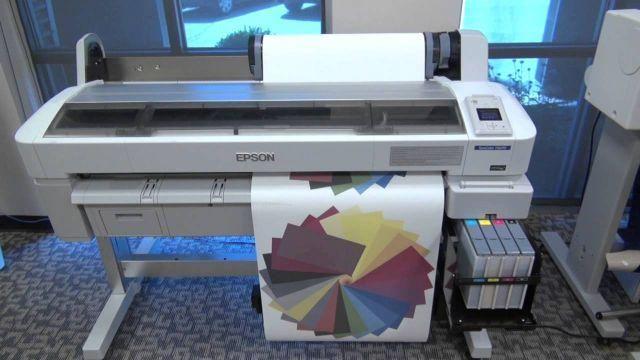 Impressora plotter epson f6070
