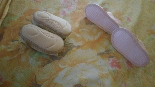 Sandálias infantil lindas