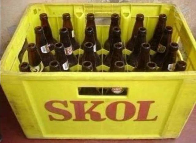 Caixa de cervejas