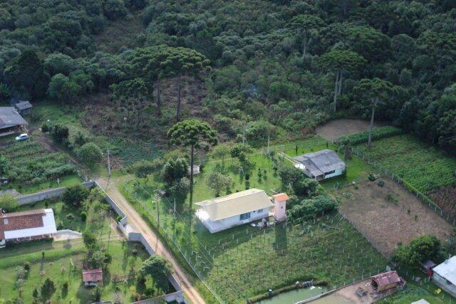 Area para formação de chácaras