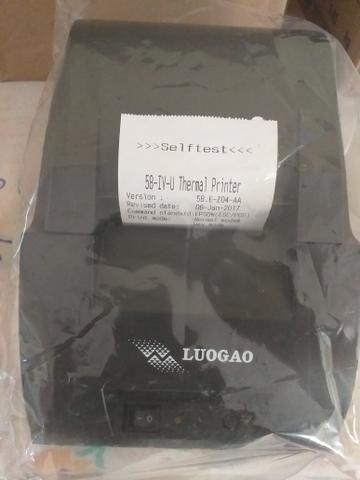 Impressora termica /thermal printer cupom/recibo não fiscal - Foto 5