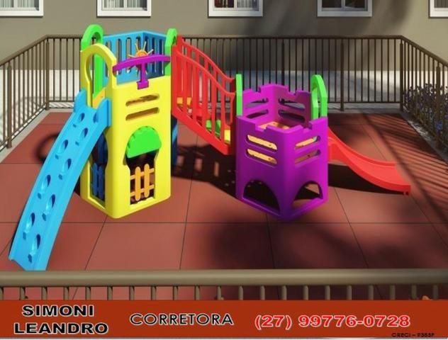 """SCL - 57P - """"Parque Ventura"""" Apartamento 2 Qtos em Balneário de Carapebus - Foto 6"""