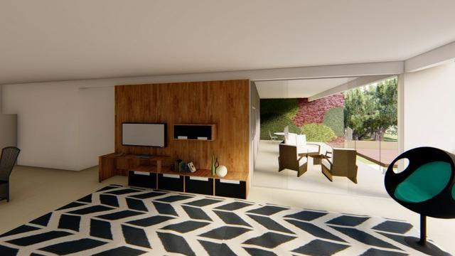 Parece irreal ! Casa nova no Mirante de Aldeia, 4 suites, 258 m2 , terr. 1.000 m2