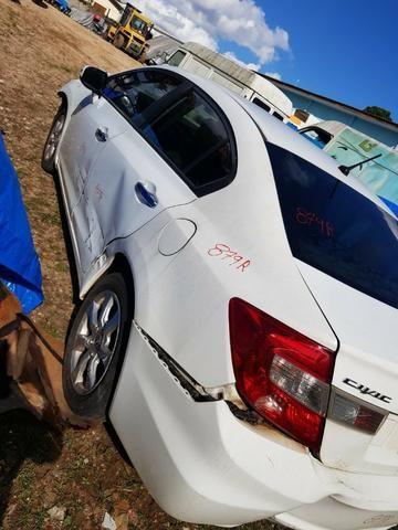 Sucata Honda Civic Exs 2012 para Retirada de Peças - Foto 2