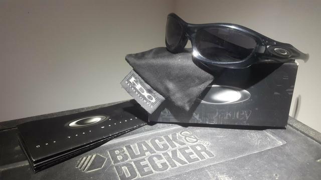9a073adeaaccb Óculos Oakley Monster Dog Black Iridium - Bijouterias