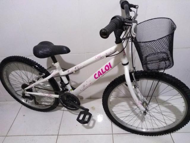 913b13fc85381 Bicicleta aro 24 Caloi ceci semi nova!!! - Ciclismo - Cidade Vista ...