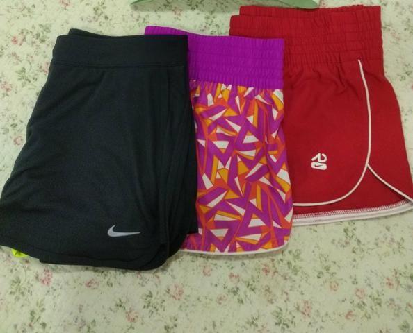 shorts adidas e nike feminino