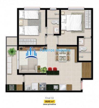 Apartamento 2 dormitórios e Sacada Jardim Paulista - Apartamento em Lançamentos ... - Foto 17