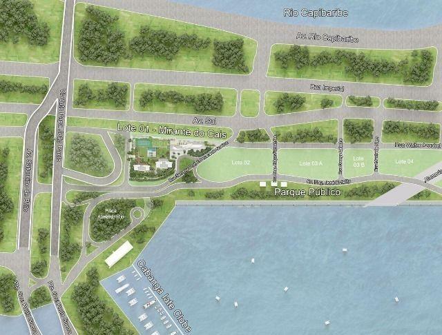 Vendo Flats no Parque do Cais - Lançamento espetacular na Moura Dubeux - Foto 11