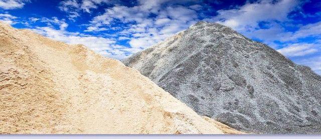 Areia / Pedra / Aterro. Entrega rápida e preço justo