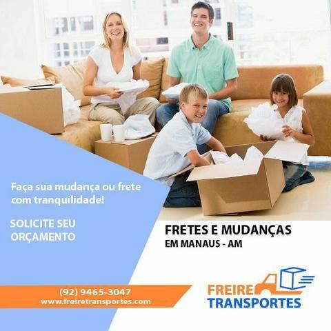 Frete mudanças cargas Manaus e interior