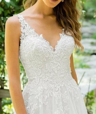 Vestido de Noiva Novo - Foto 3