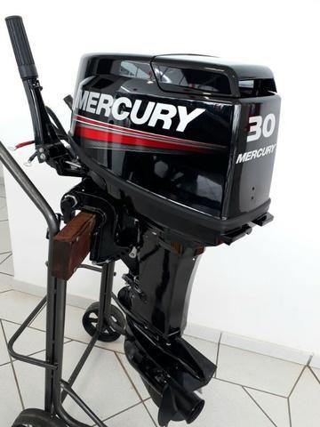 Motor 30 Hp Mercury 0km - Foto 5