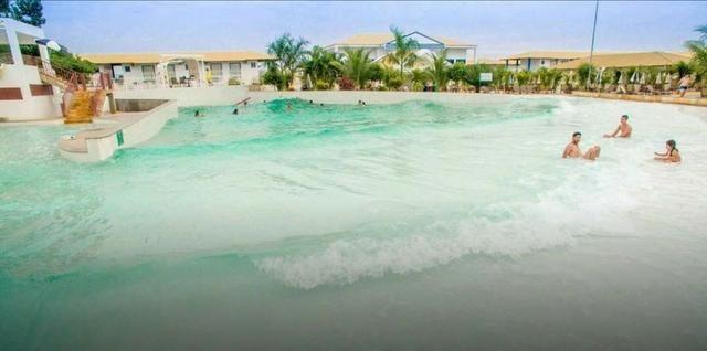 Hotel Lacqua diroma diária a 100 reais p/ 5 pessoas com parque aquático aberto 24h - Foto 2