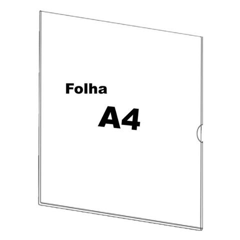 Display/Porta Folder Parede A4 - Foto 3