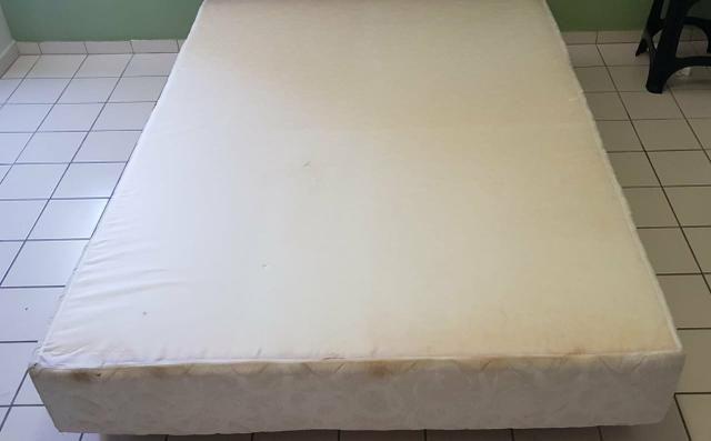 Base de cama casal tamanho padrão