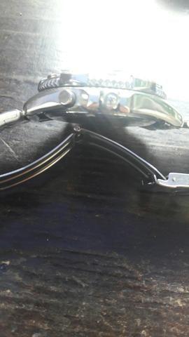 Relogio citizen wr 100 cronograph mascara nega - Foto 5