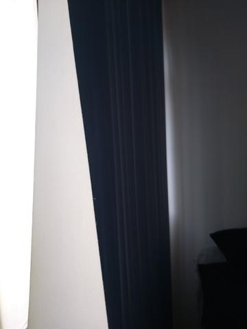 Persiana Azul com blecaute e bandana - Foto 3