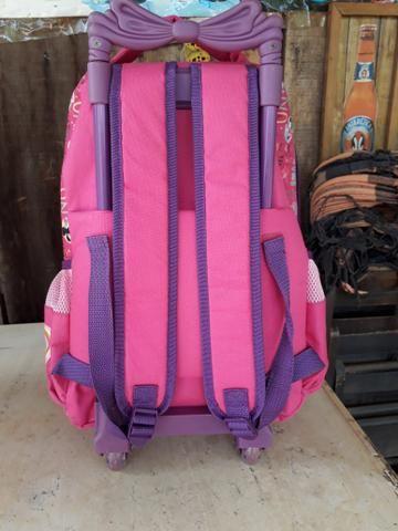 Vendo mochilas com rodinhas - Foto 3