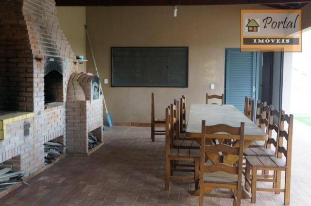 Chácara com 2 dormitórios para alugar, 250 m² por R$ 2.600/mês - Gramado Santa Rita - Camp - Foto 5