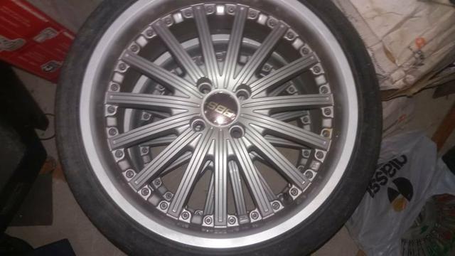 Rodas aro 17 +2 pares de pneus 205 e 215 _17