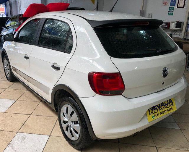 Volkswagen Novo Gol 2014 1.0 Flex Track Completo Branco (Estudo Troca e Financio) - Foto 5