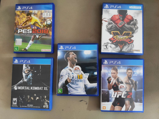 Jogos PS4 Originais - Midia Física Novinha  - Preço na Descrição