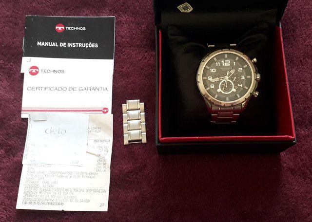 Vendo relógio Technos modelo skymaster - Foto 4