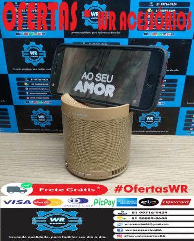 Caixa De Som Bluetooth Q3 + Brinde e Entrega Grátis - Foto 5