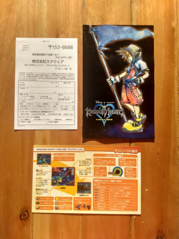 Kingdom Hearts Final Mix - PS2 - Japonês Original - Foto 5