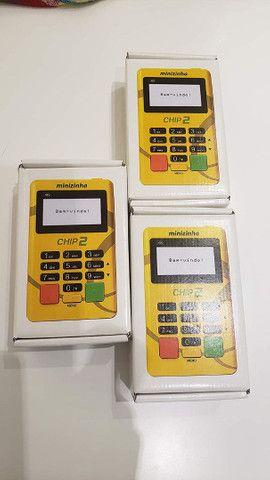 Máquininha de cartão com Chip 2