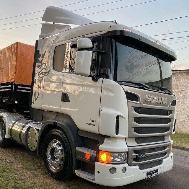 Scania R440 + bitrem graneleiro - Foto 4