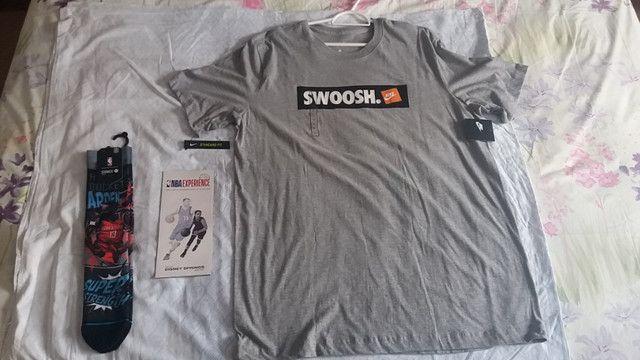 Camisa Nike original ,nova no plástico, para amantes do Basquete e esportistas em geral - Foto 2