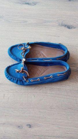 Mocassim azul da carmen steffens - Foto 2