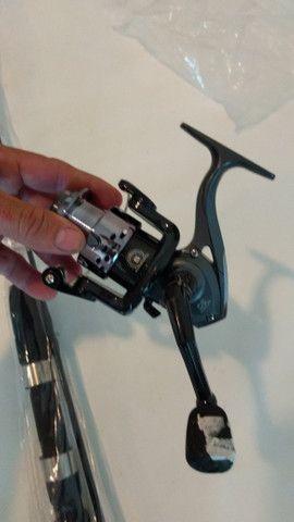 Vende-se vara de pescar completa nunca usada !! R$ 120,00 - Foto 3