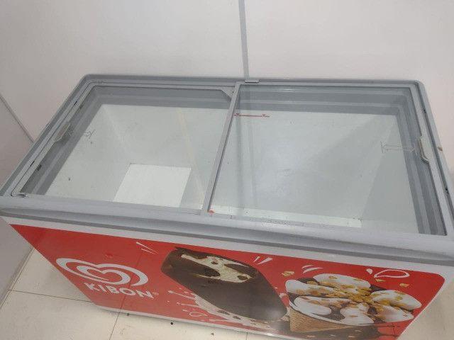 Freezer Horizontal Metal Frio Cod 251330 - Foto 2