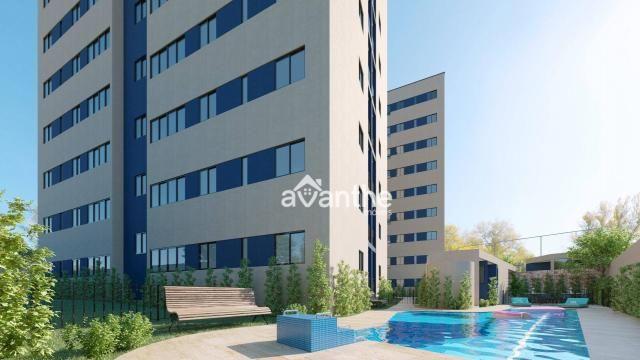 Apartamento com 3 dormitórios à venda, 66 m² por R$ 261.534,00 - Socopo Zona Leste - Teres - Foto 2