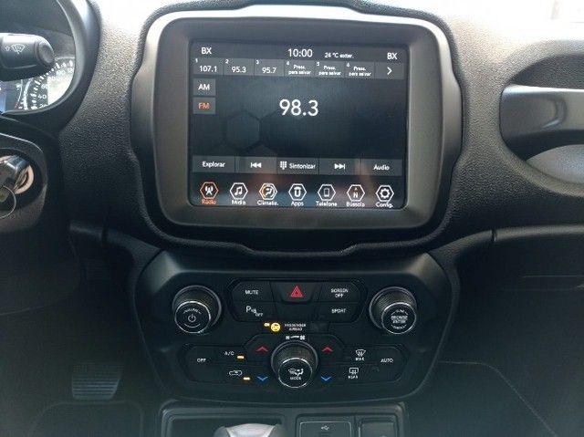 Jeep Renegade Longitude 1.8 Flex 16V Aut. - 2020 - Revisado Concessionaria - Foto 9