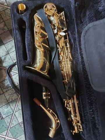 saxofone alto semi novo - Foto 2