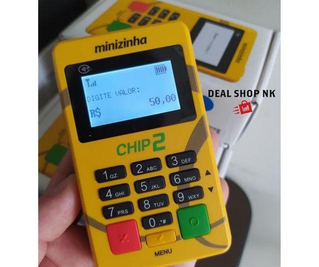 Máquina de Cartão - Minizinha Chip 2 - Foto 2