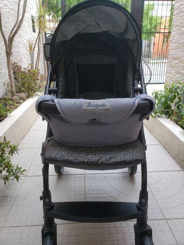 Carrinho de passeio + ninho neonato - Foto 3