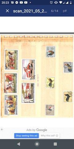 Coleção de selos - Foto 6